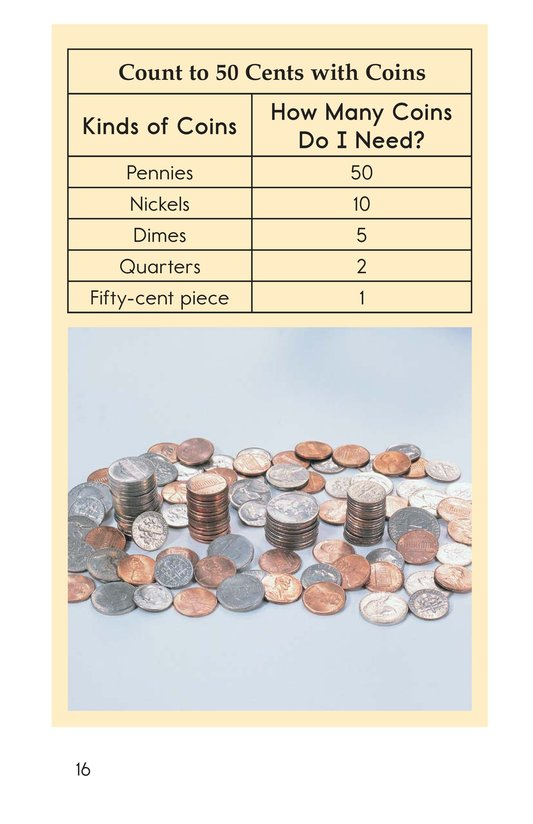 Book Preview For How Many is Fifty? Page 16