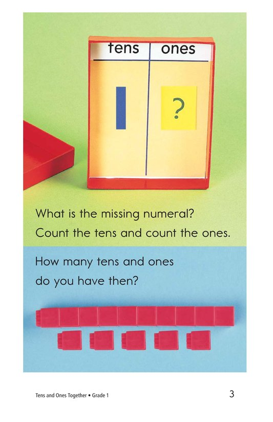 Book Preview For Tens and Ones Together Page 3