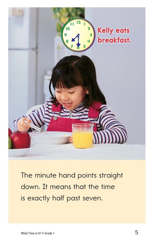 Book Preview For What Time Is It? Page 5