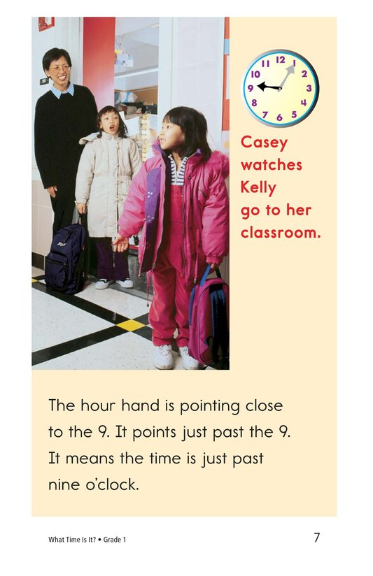 Book Preview For What Time Is It? Page 7