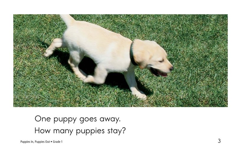 Book Preview For Puppies In, Puppies Out Page 3