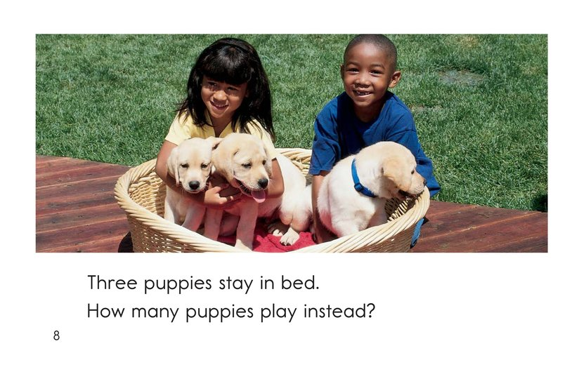 Book Preview For Puppies In, Puppies Out Page 8
