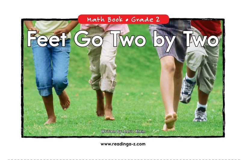 Book Preview For Feet Go Two By Two Page 0
