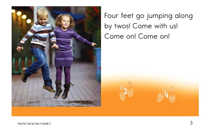 Book Preview For Feet Go Two By Two Page 3