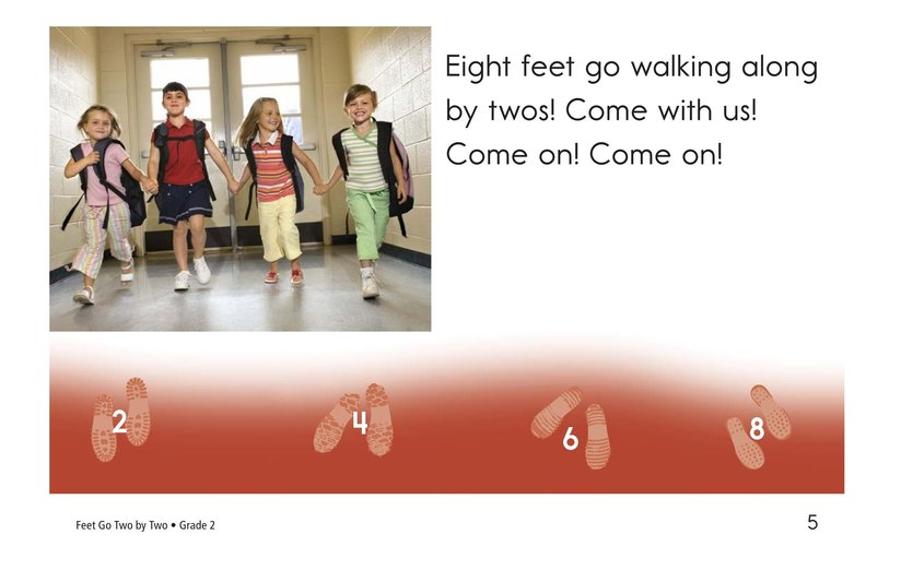 Book Preview For Feet Go Two By Two Page 5