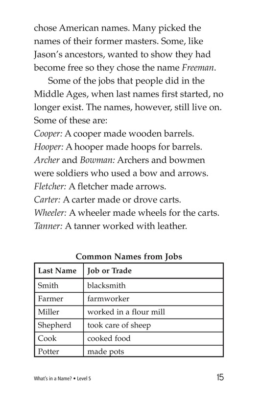 Book Preview For What's in a Name? Page 15