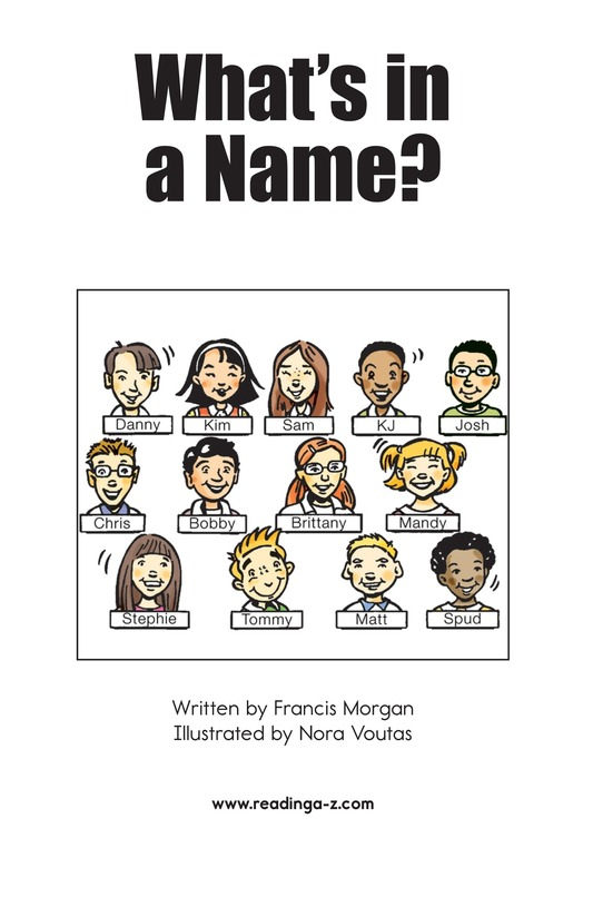 Book Preview For What's in a Name? Page 2
