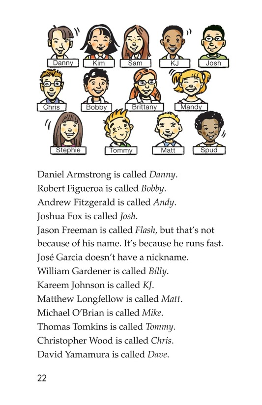 Book Preview For What's in a Name? Page 22