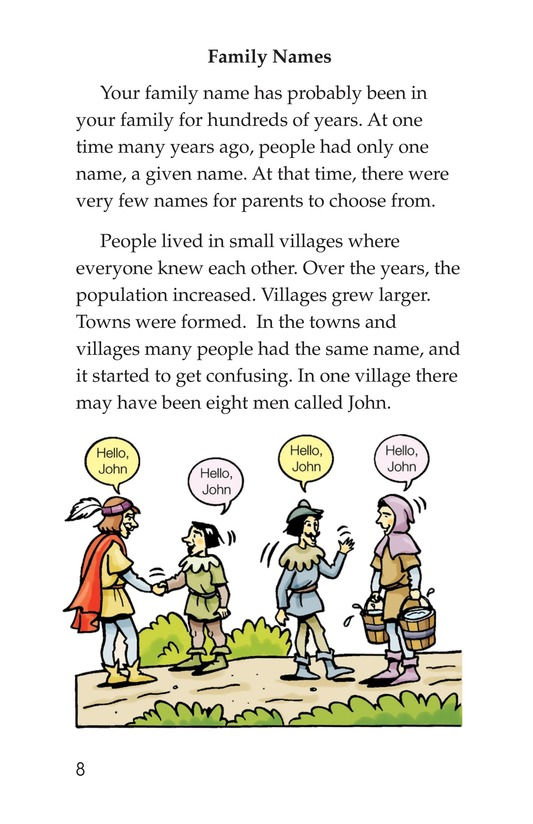 Book Preview For What's in a Name? Page 8
