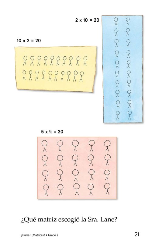 Book Preview For Hooray! Arrays! Page 21