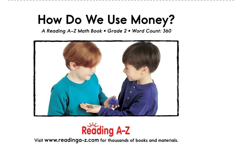 Book Preview For How Do We Use Money? Page 25