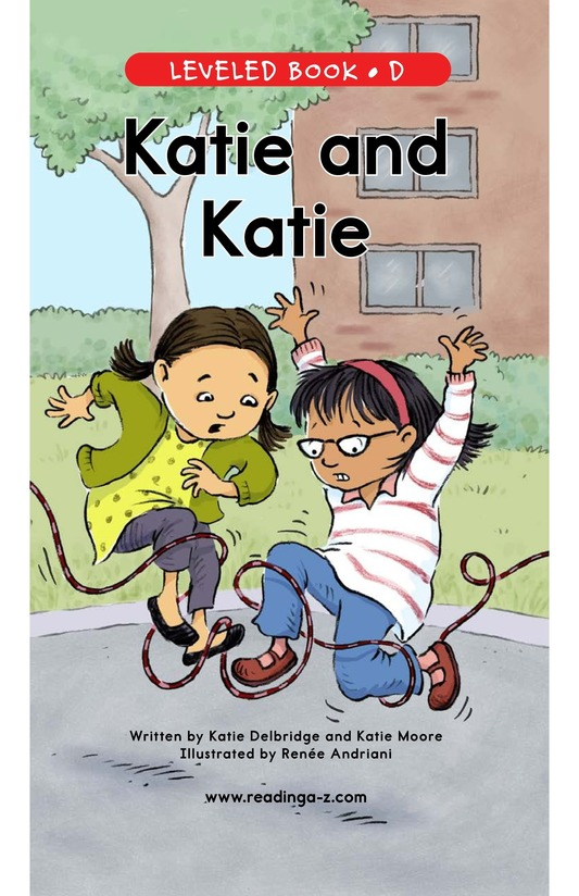 Book Preview For Katie and Katie Page 1