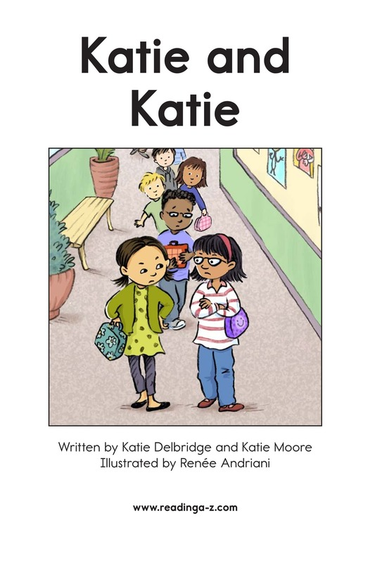 Book Preview For Katie and Katie Page 2