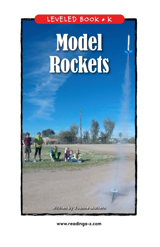 Book Preview For Model Rockets Page 1