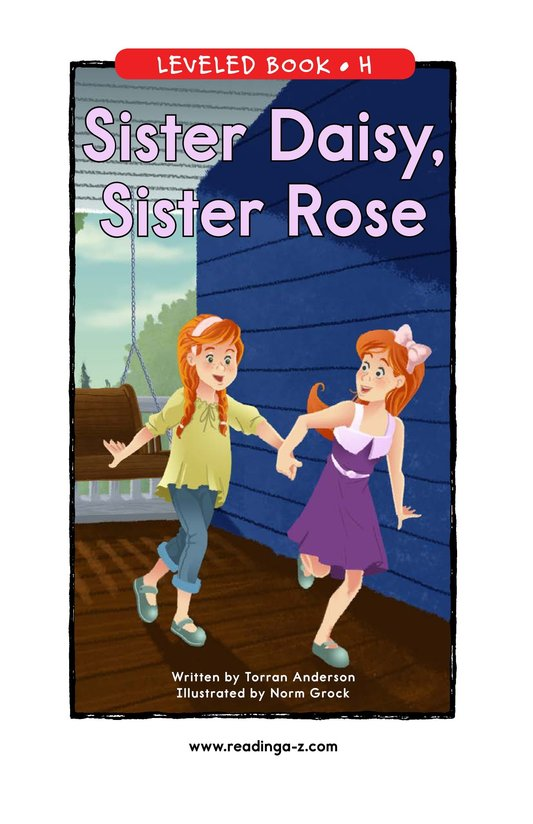 Book Preview For Sister Daisy, Sister Rose Page 1