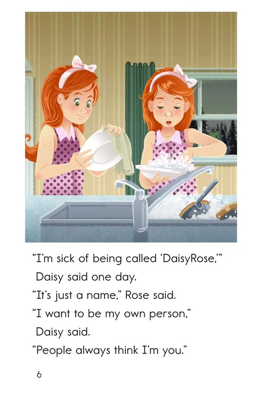 Book Preview For Sister Daisy, Sister Rose Page 6