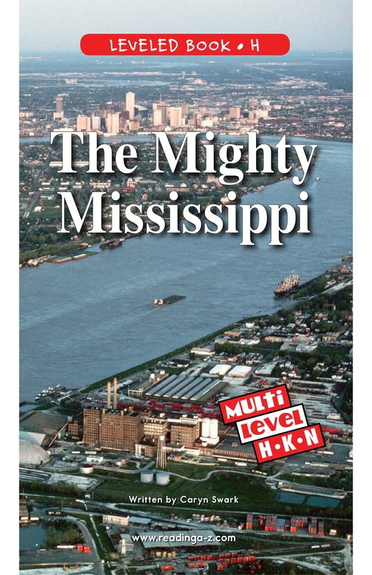Book Preview For The Mighty Mississippi Page 1
