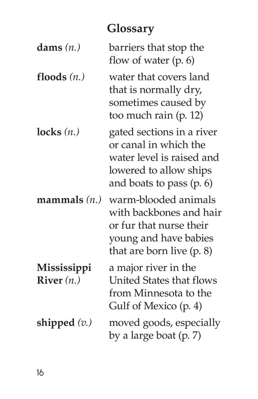 Book Preview For The Mighty Mississippi Page 16