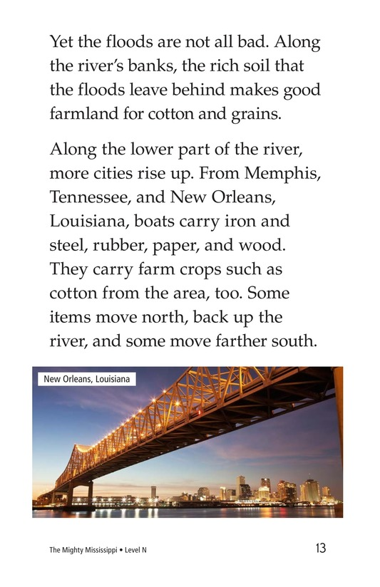 Book Preview For The Mighty Mississippi Page 13