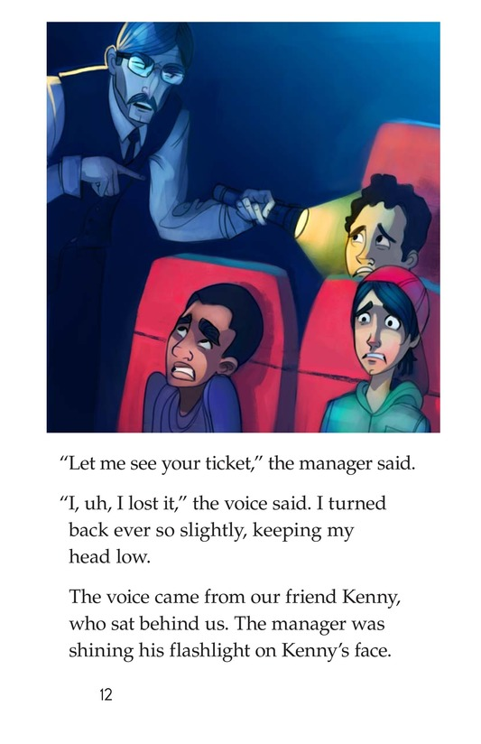 Book Preview For A Bad Movie Page 12