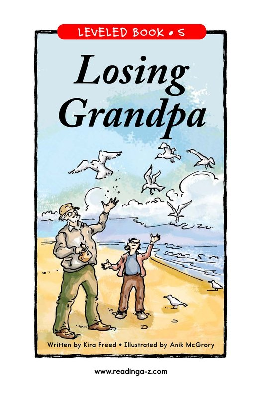 Book Preview For Losing Grandpa Page 1