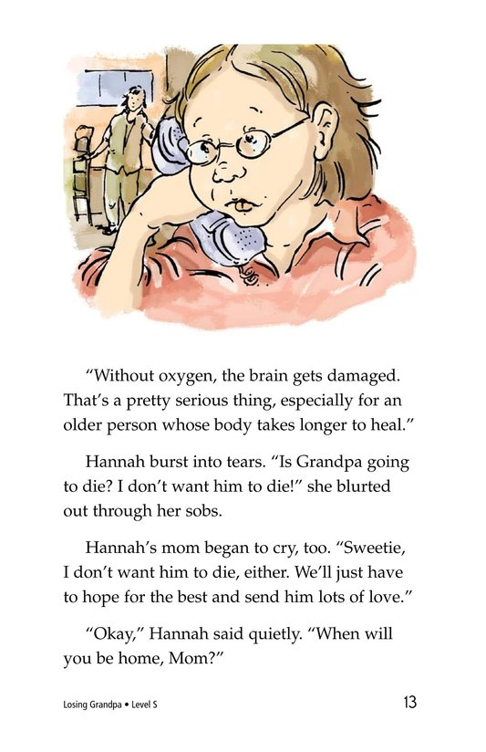 Book Preview For Losing Grandpa Page 13