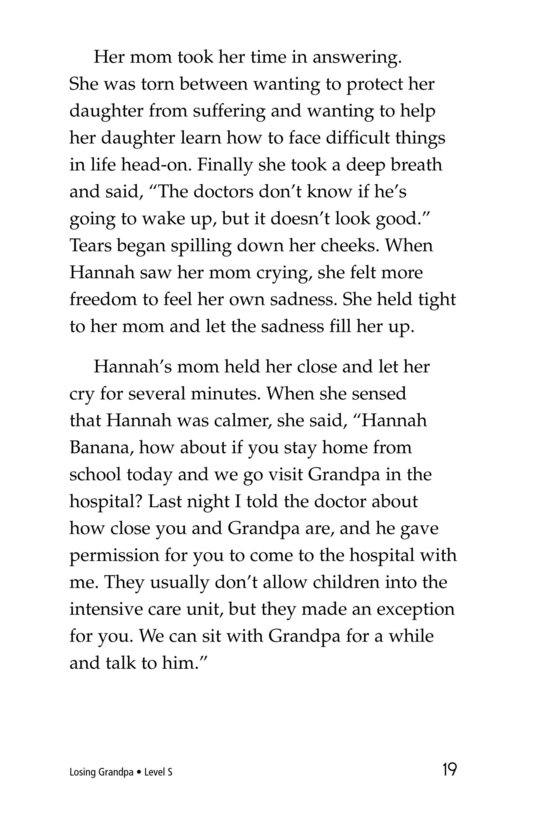 Book Preview For Losing Grandpa Page 19