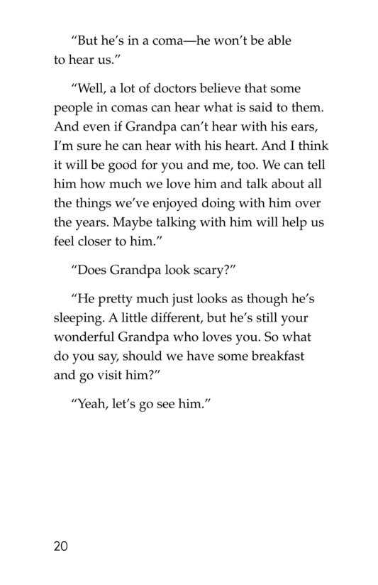 Book Preview For Losing Grandpa Page 20