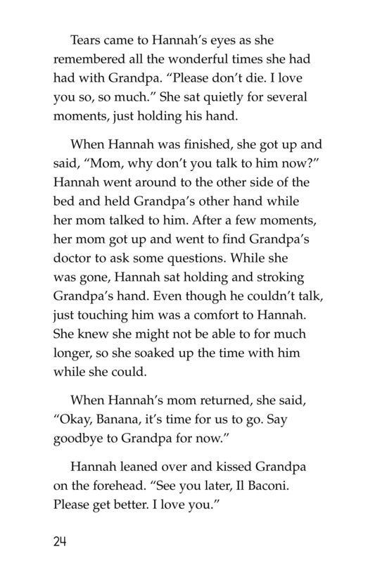 Book Preview For Losing Grandpa Page 24