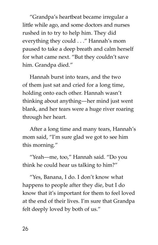 Book Preview For Losing Grandpa Page 26