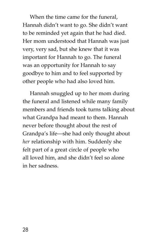 Book Preview For Losing Grandpa Page 28