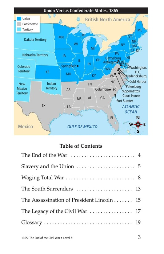 Book Preview For 1865: The End of the Civil War Page 3