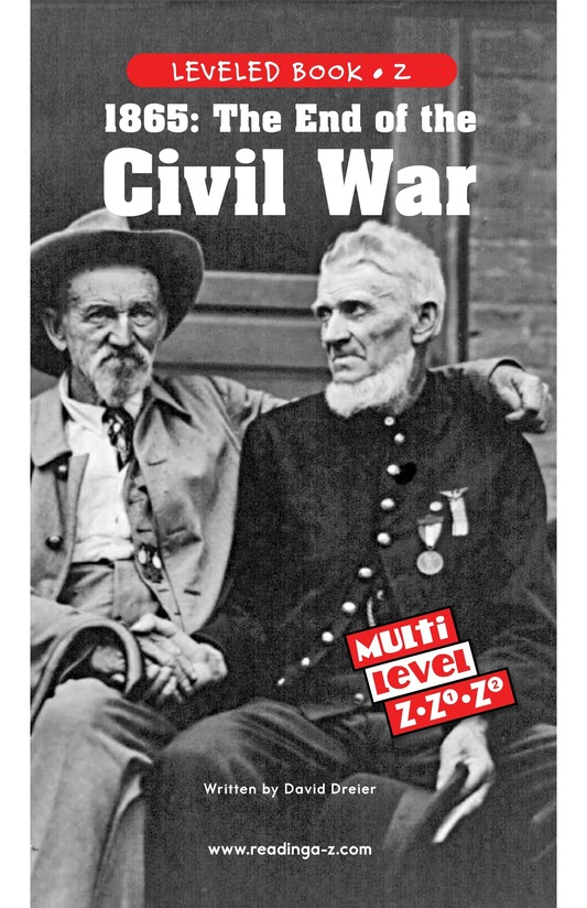 Book Preview For 1865: The End of the Civil War Page 0