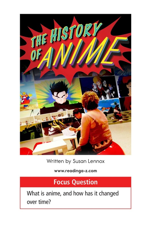 Book Preview For The History of Anime Page 1