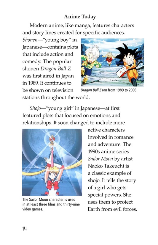 Book Preview For The History of Anime Page 14