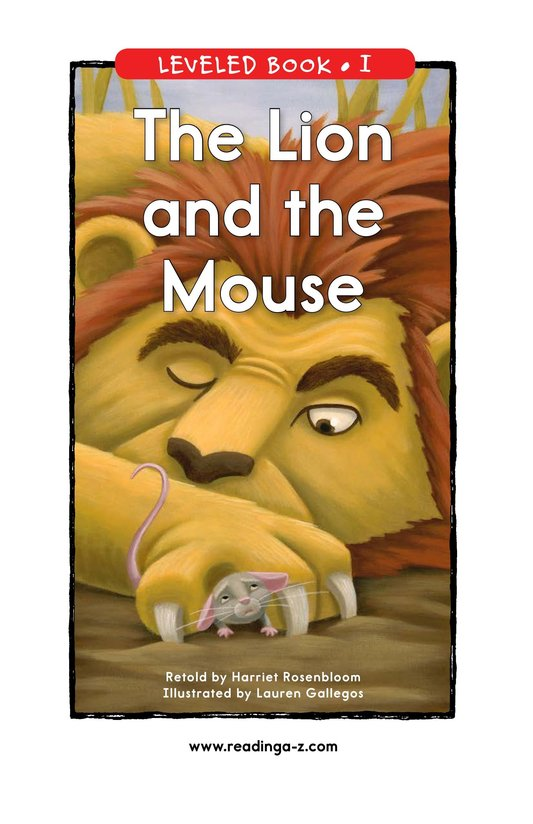 Book Preview For The Lion and the Mouse Page 1