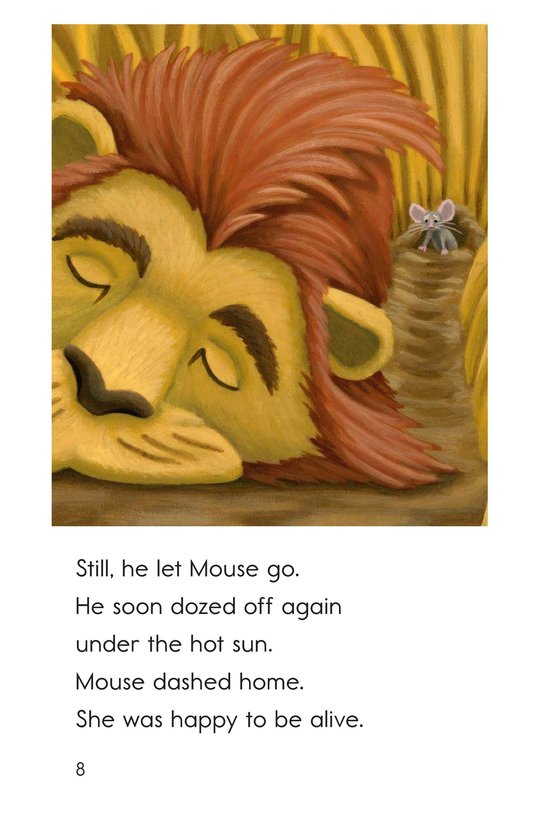 Book Preview For The Lion and the Mouse Page 8