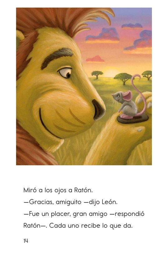 Book Preview For The Lion and the Mouse Page 14