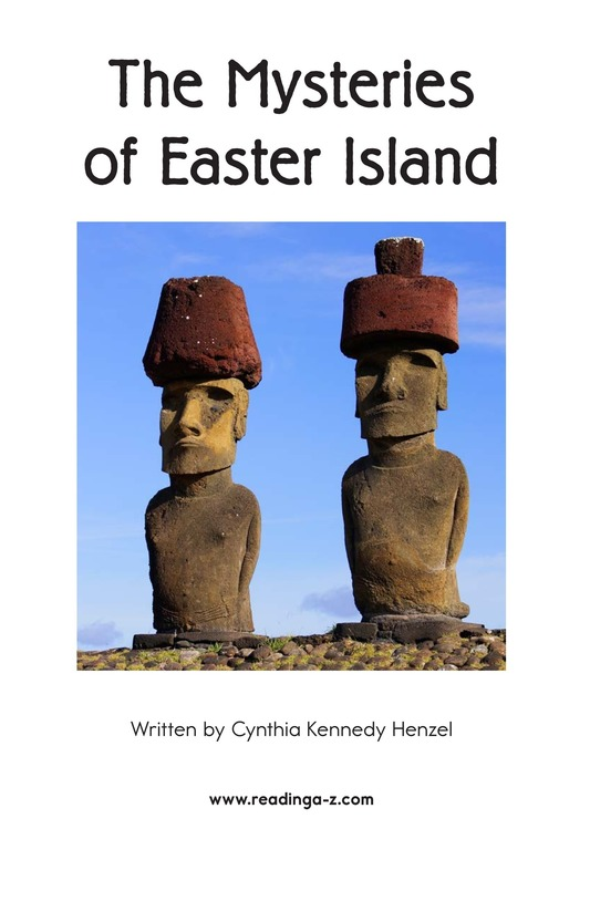 Book Preview For The Mysteries of Easter Island Page 2