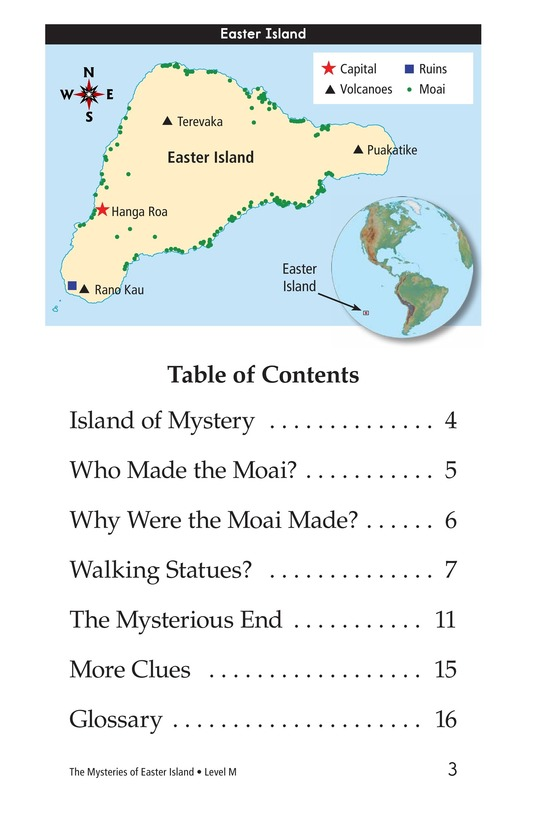 Book Preview For The Mysteries of Easter Island Page 3