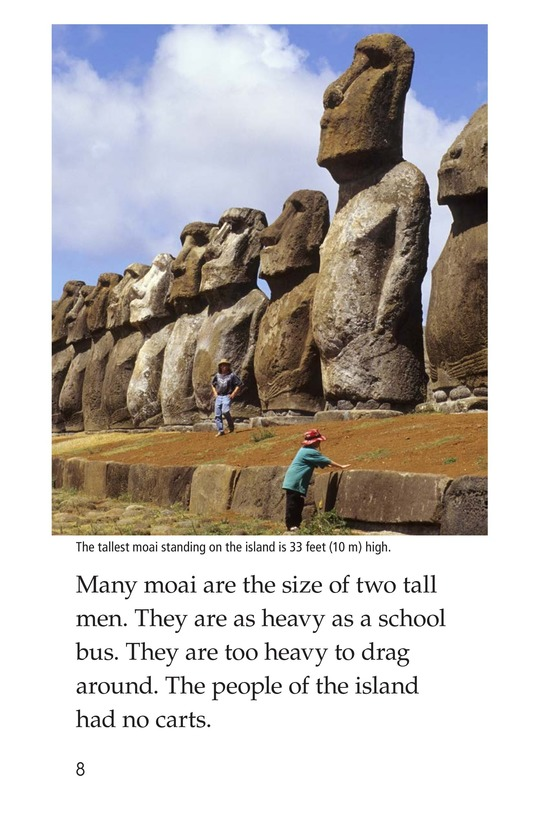 Book Preview For The Mysteries of Easter Island Page 8