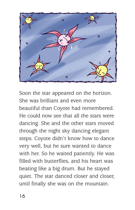 Book Preview For Coyote and the Star Page 16