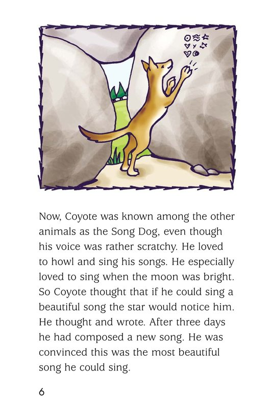 Book Preview For Coyote and the Star Page 6