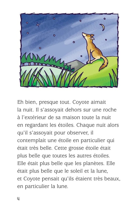 Book Preview For Coyote and the Star Page 4