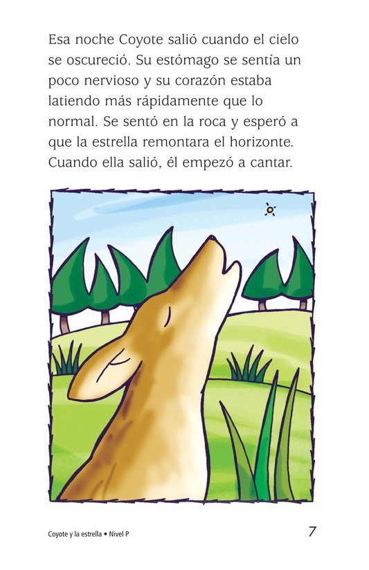 Book Preview For Coyote and the Star Page 7