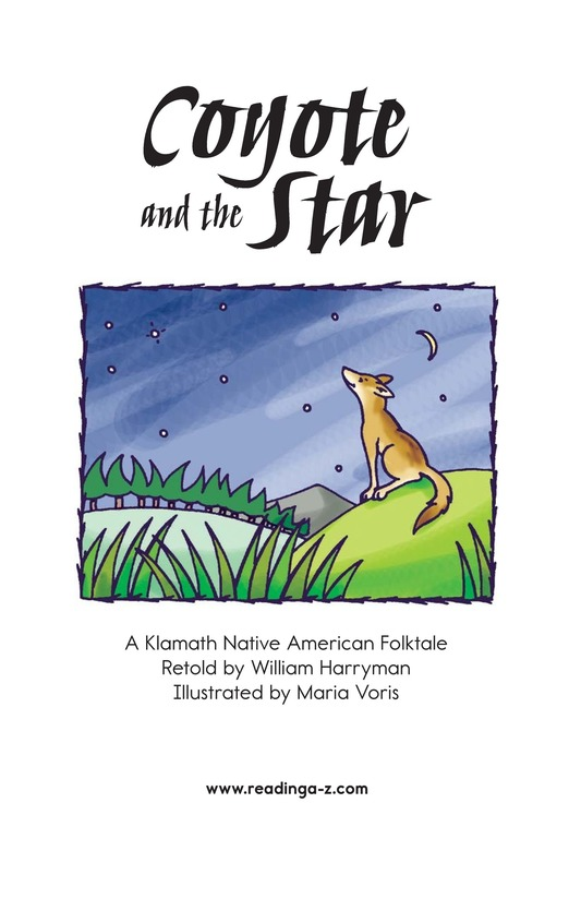 Book Preview For Coyote and the Star Page 2