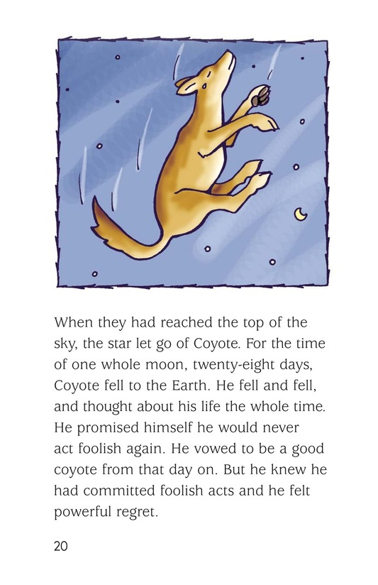 Book Preview For Coyote and the Star Page 20