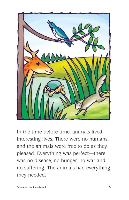 Book Preview For Coyote and the Star Page 3