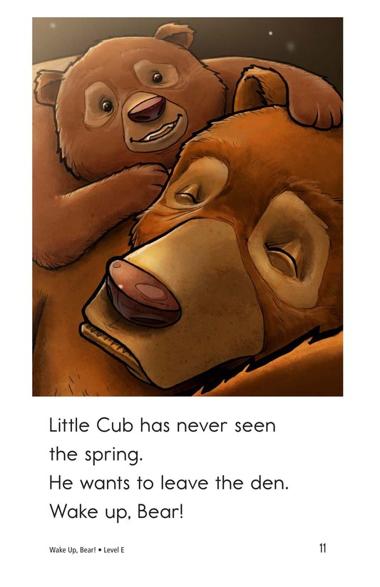 Book Preview For Wake Up, Bear! Page 11