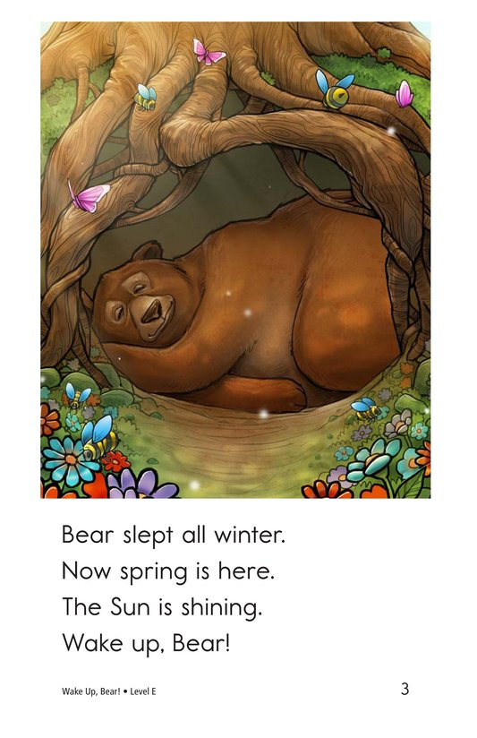 Book Preview For Wake Up, Bear! Page 3